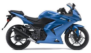 Новая модель Kawasaki Ninja 250R